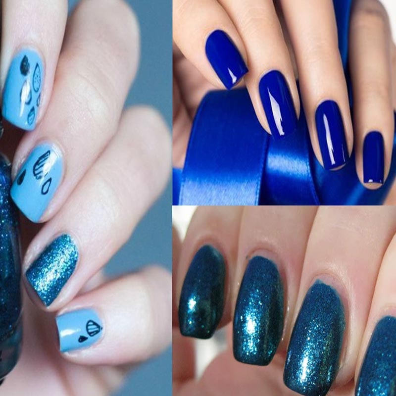 Stylish Blue Nail Art You Love To Try