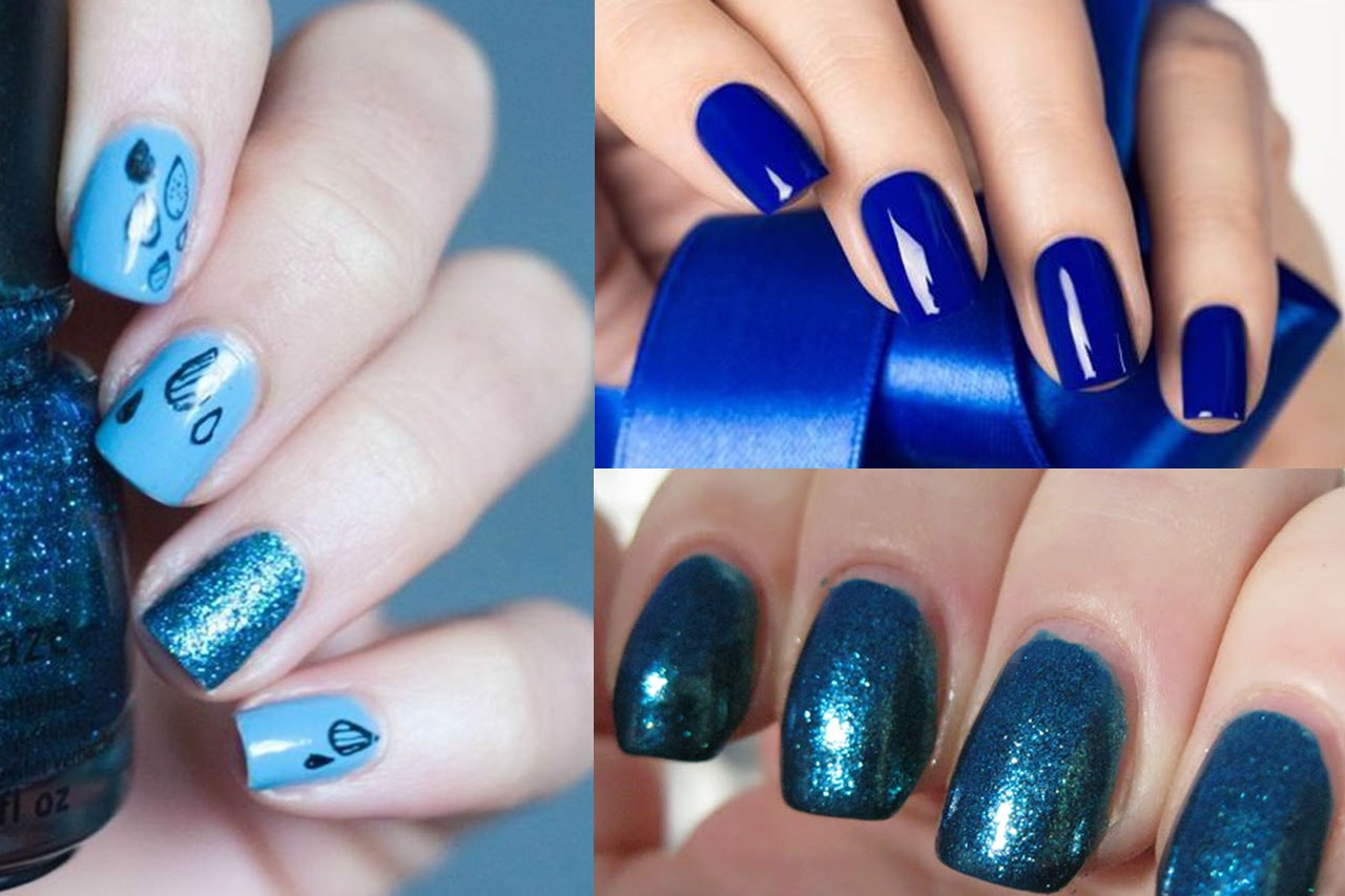 Stylish Blue Nail Art You Love To Try - Top Beauty Magazines