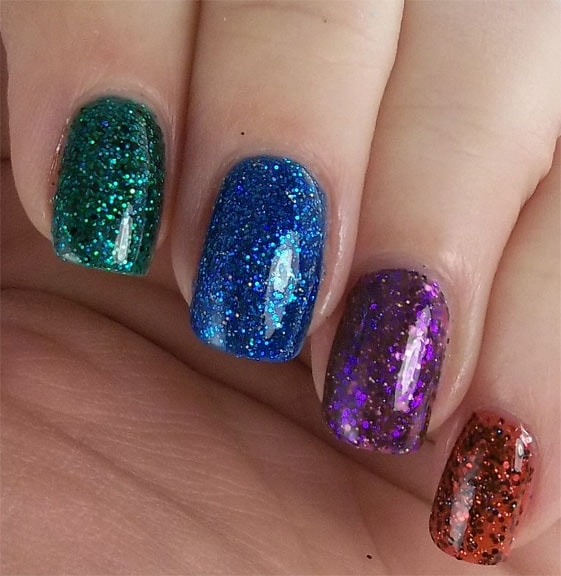 glitter-blue-with-multi-color-nail-art