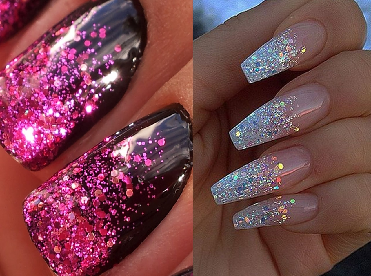 glitter-nail-with-3d-look