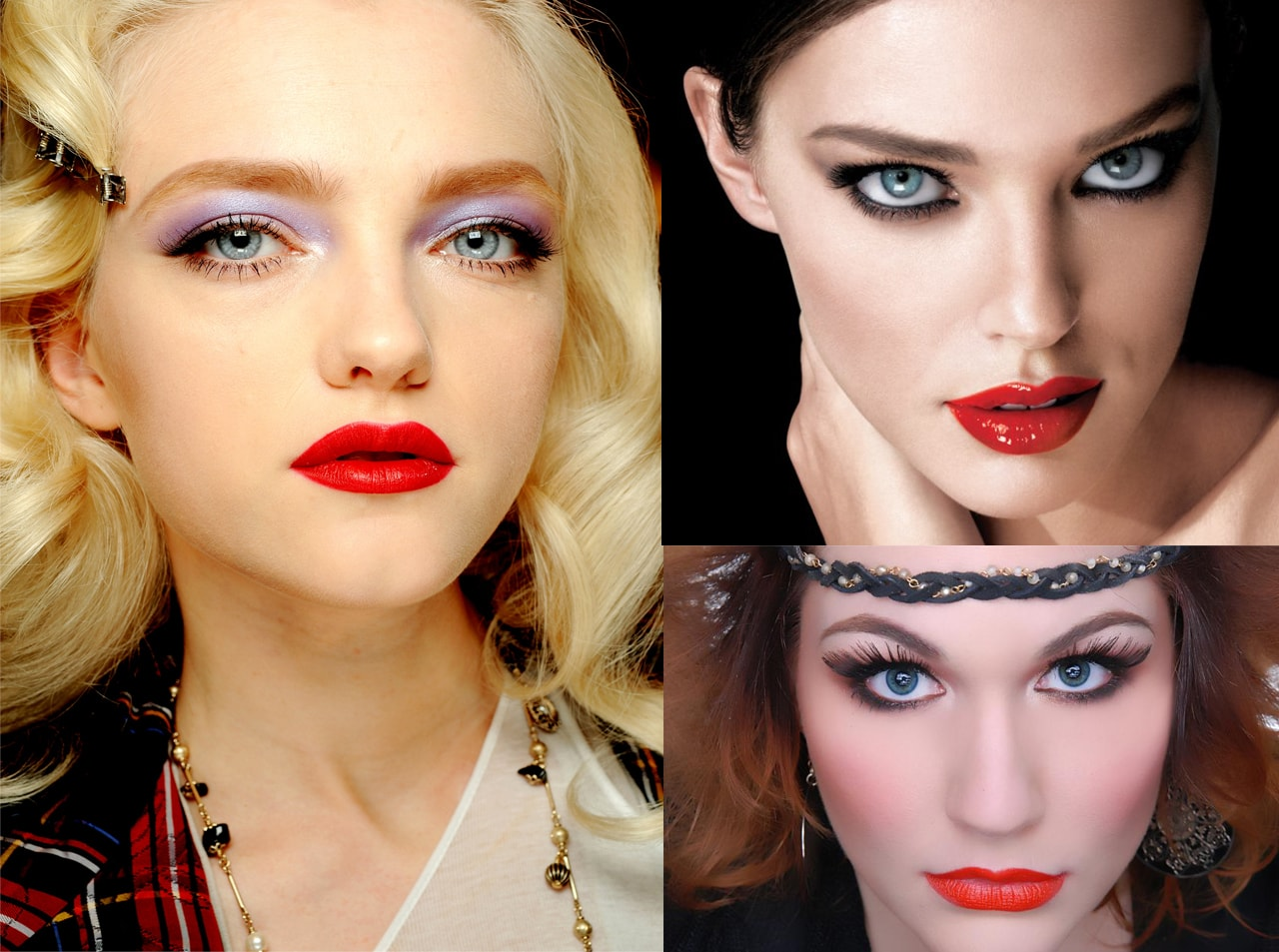 Top 10 Makeup Looks For christmas & new year party