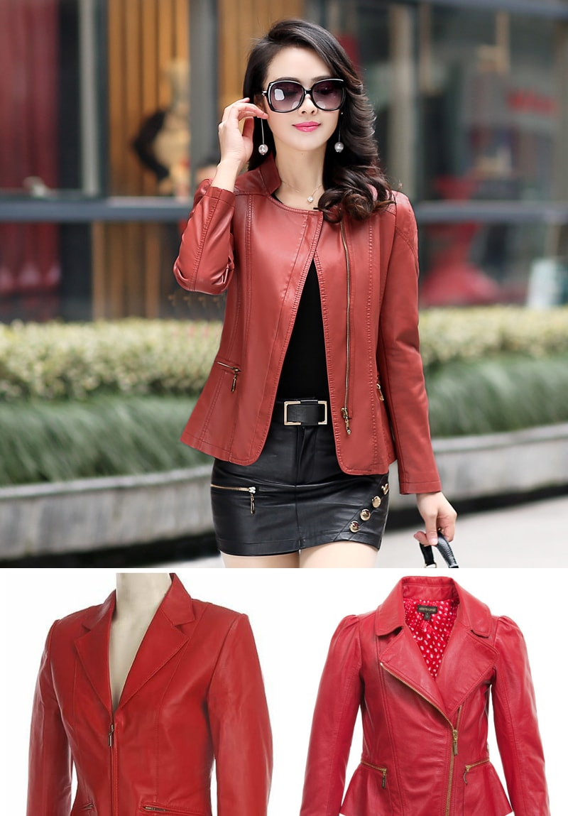 red-women-leather-jackets-min