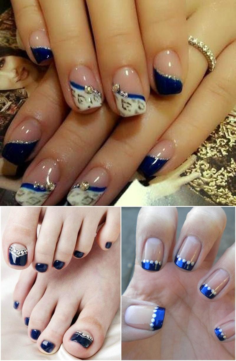blue-and-bridal-nail-art-for-weddings
