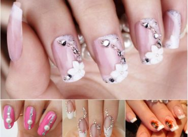 Wedding Nail Art Makes You Look Stunning on Your Wedding Day