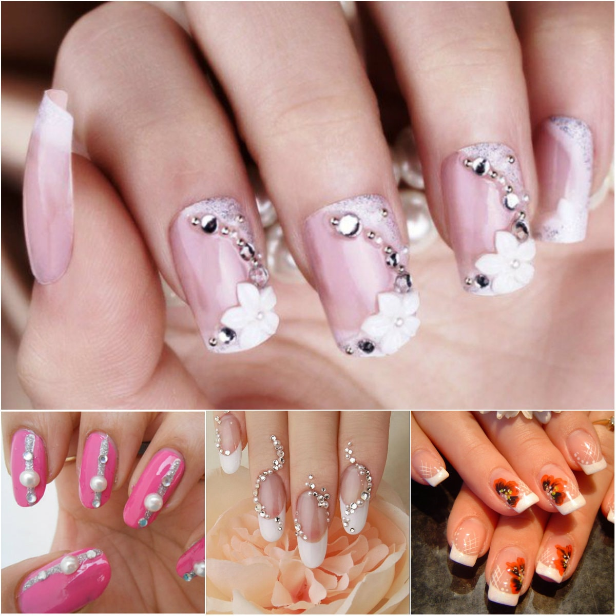 classic-wedding-nails-art-design