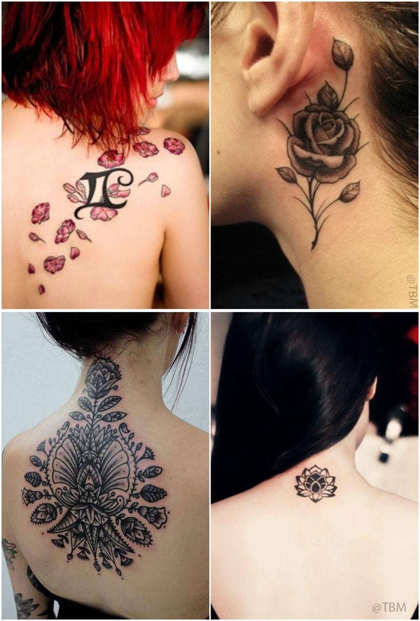 floral-neck-tattoos