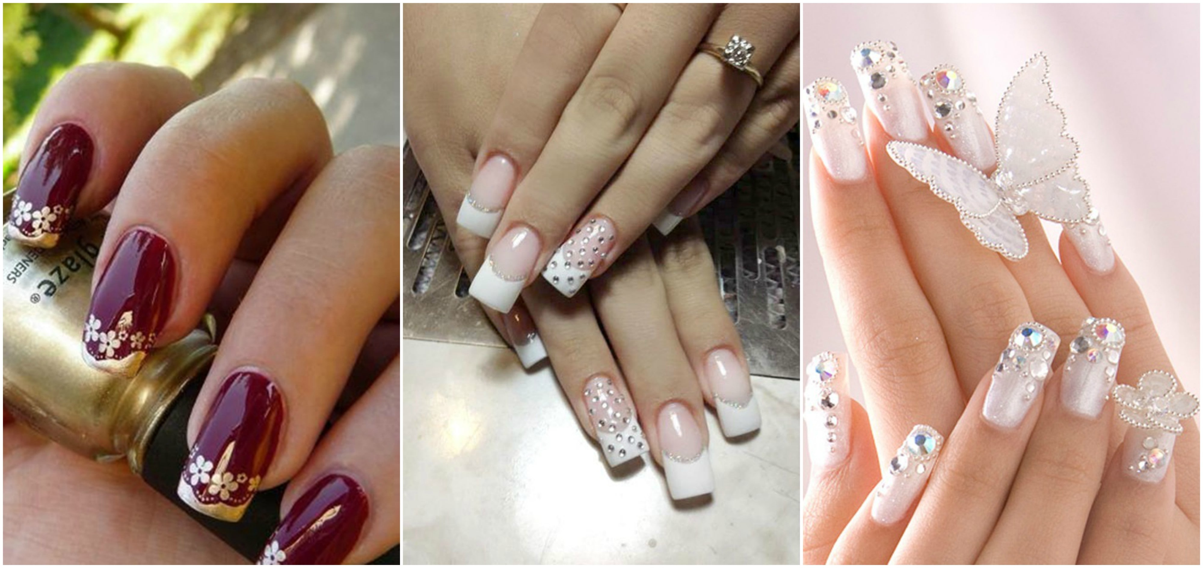 Wedding Nail Art Makes You Look Stunning On Your Wedding Day Top