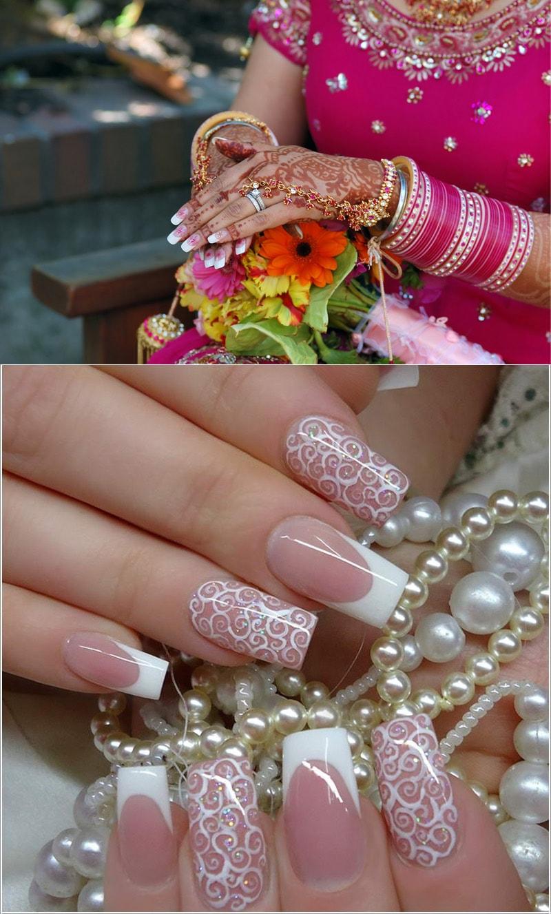 wedding-nail-art