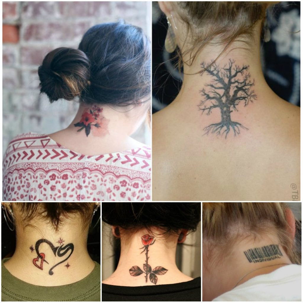 Neck Tattoo Designs are Hot Favorite Among Everyone