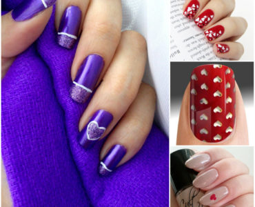 Get Hearts and Dots Nail Art Inspirations and fall in love with the Creations