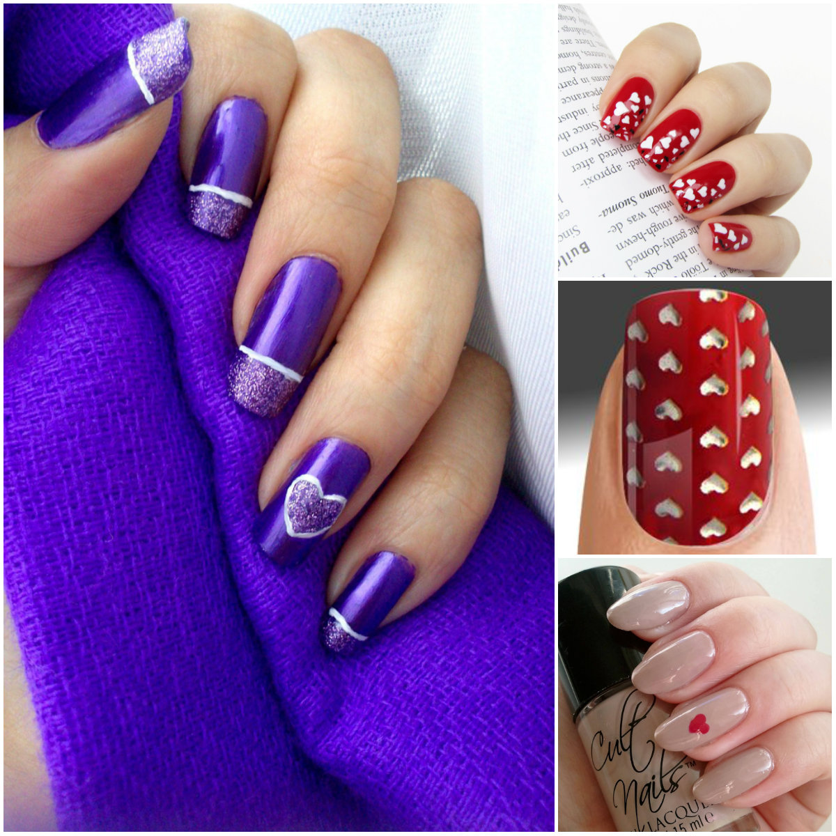 love message nail art Archives - Top Beauty Magazines