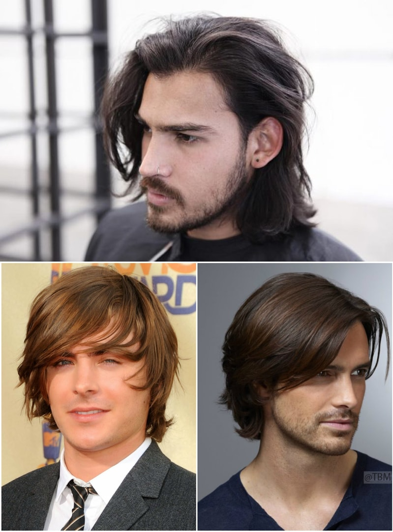 shiny-and-wavy-pompadour-for-men