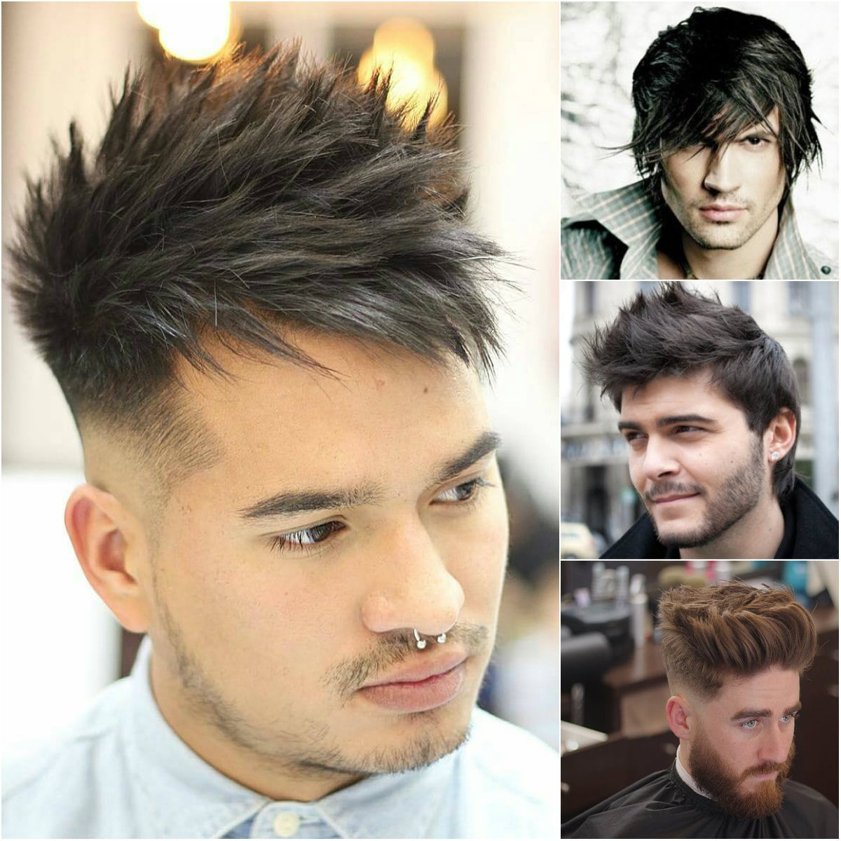 Most attractive Spiky Hairstyles for Men - Top Beauty Magazines