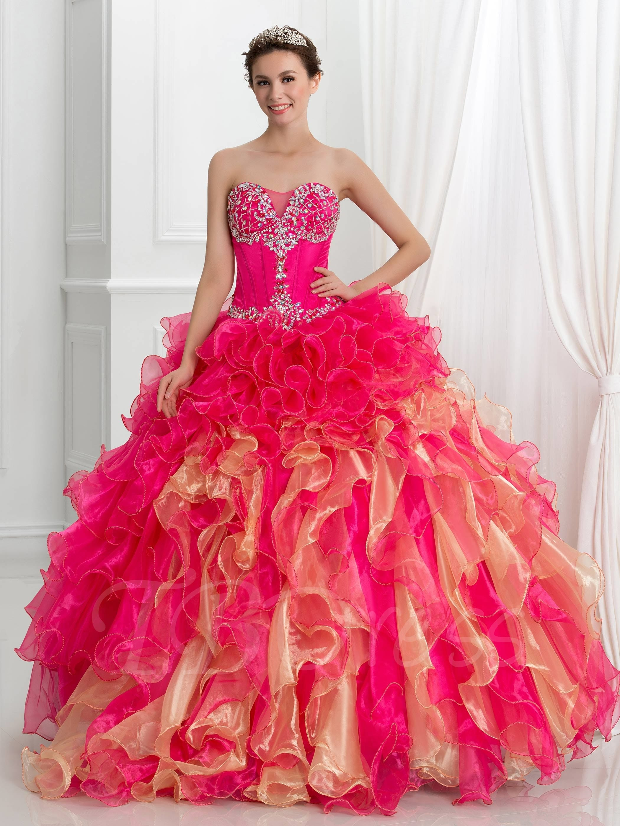 coral-lace-dress
