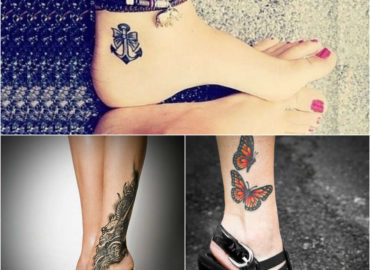 Express yourself with cute and adorable ankle tattoo designs