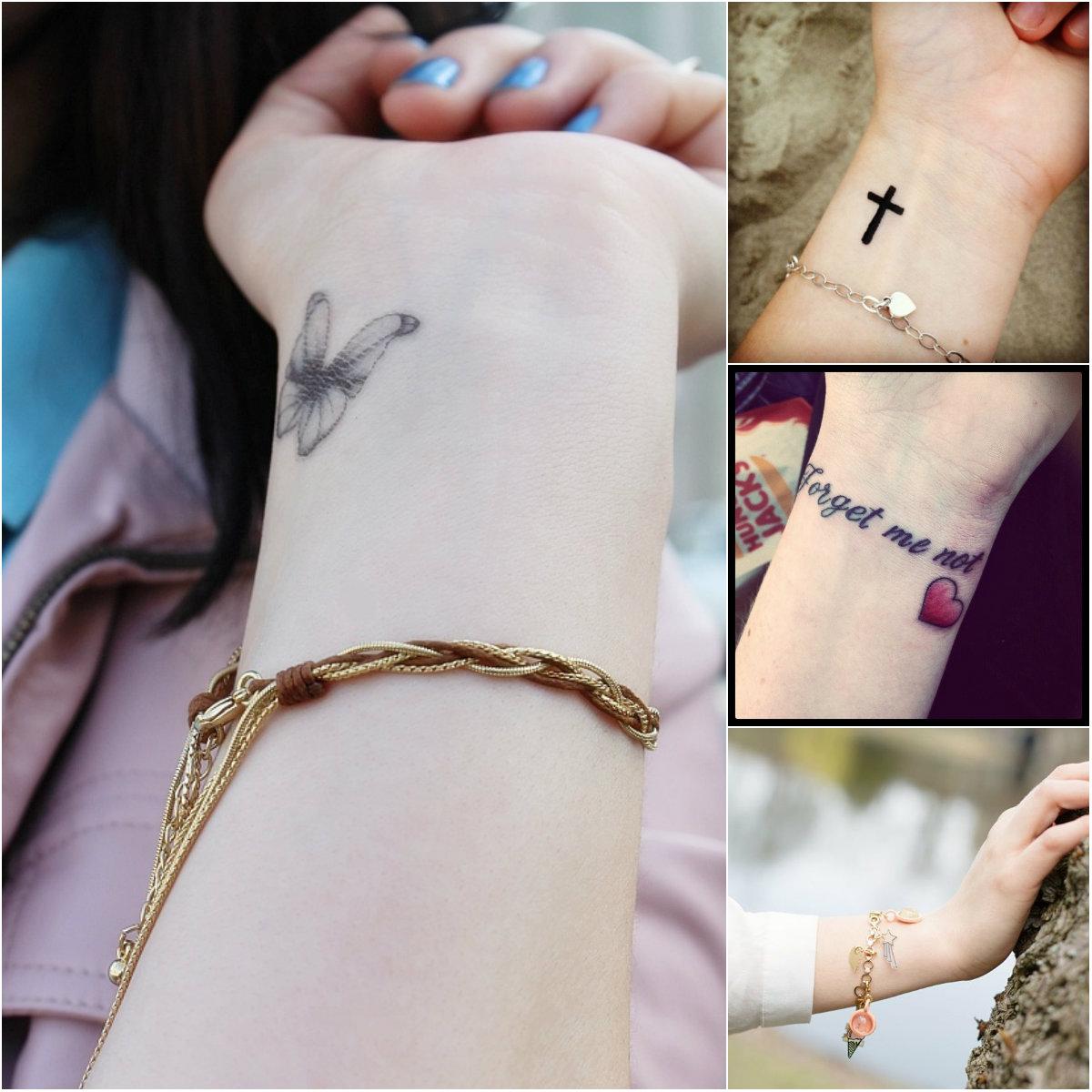 Highly Cute And Sensational Wrist Tattoo Designs