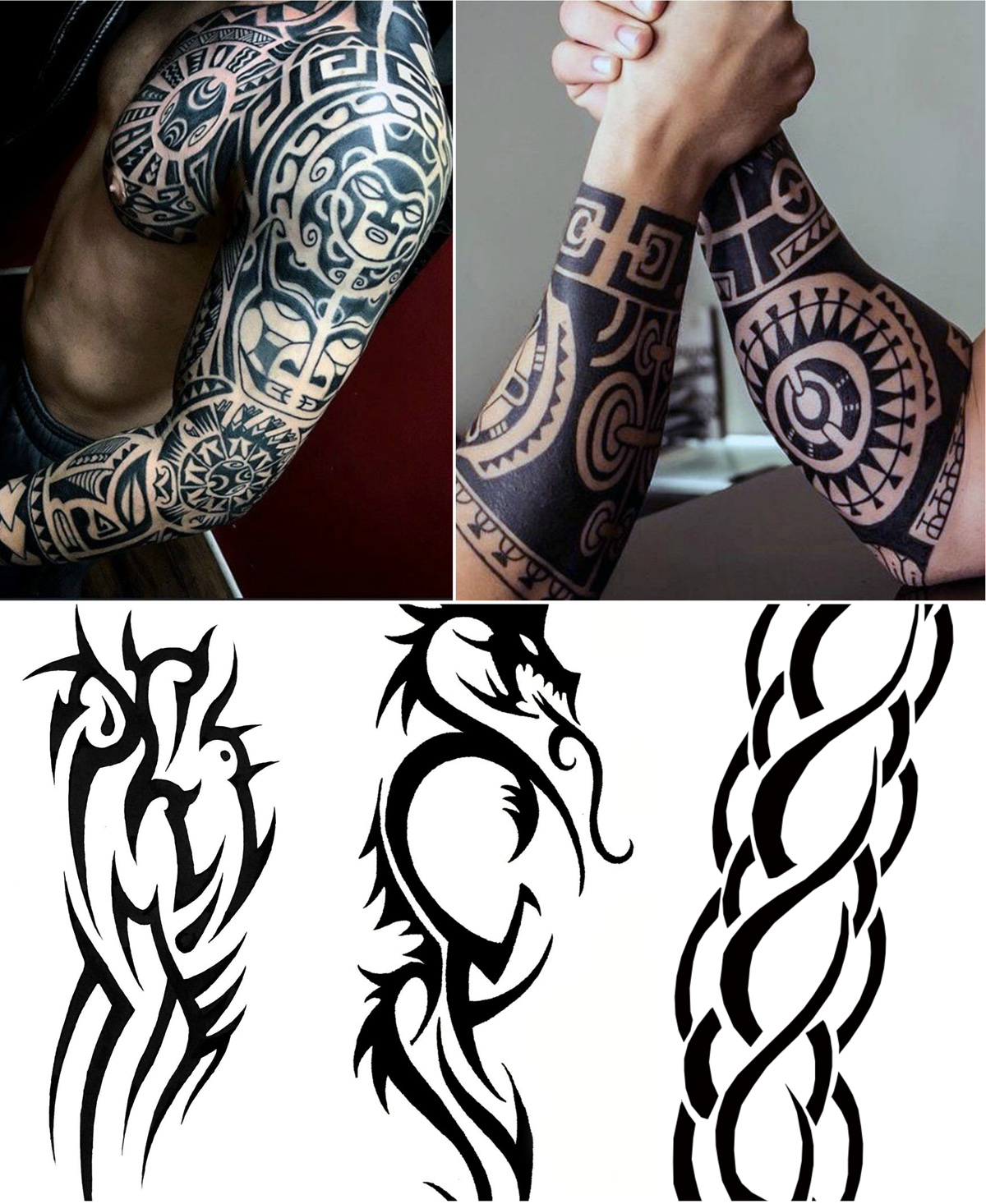 tribal-forearm-tattoos