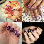 Try Fabulous Purple Nail Art Designs