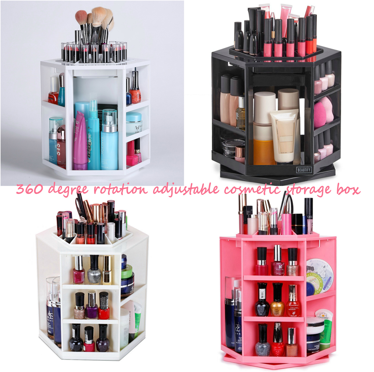 360-degree-rotation-adjustable-cosmetic-storage-box
