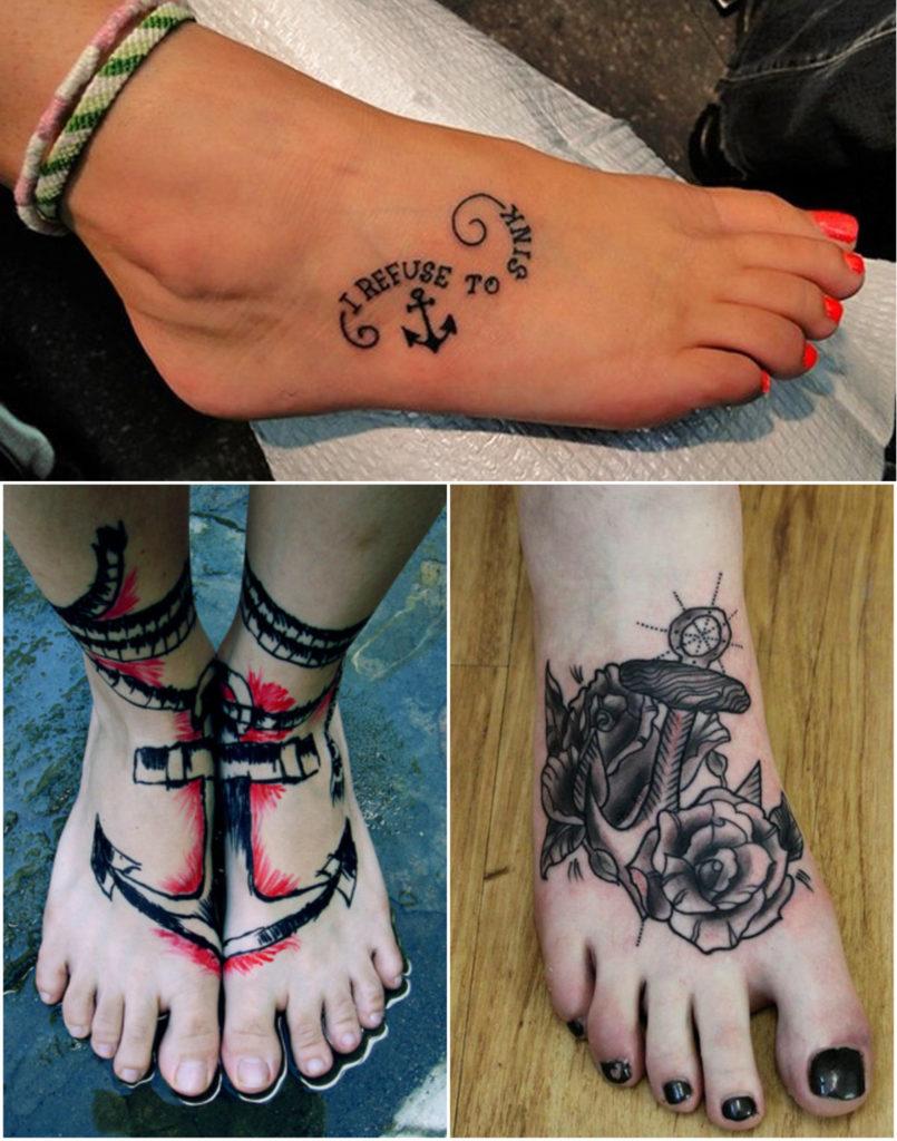 anchor-foot-tattoo-design