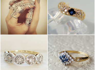 Budget Vintage Wedding Rings