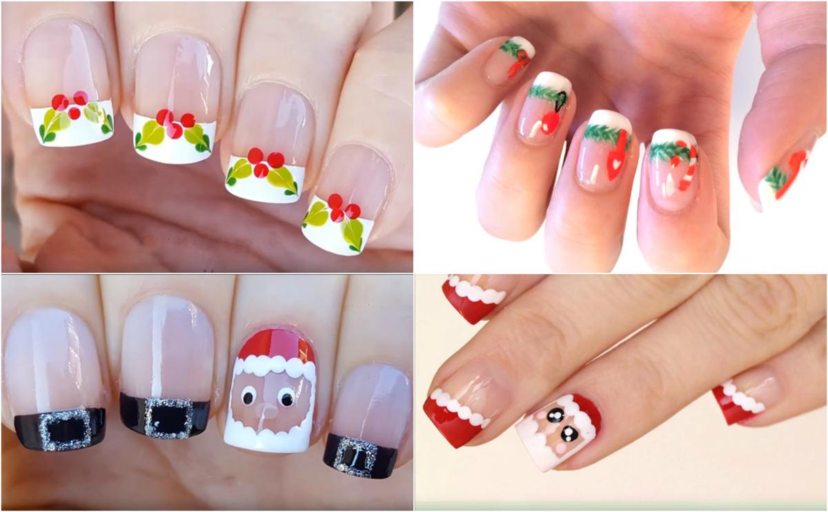 christmas-french-nail-art