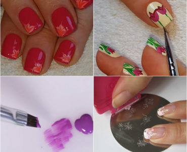 Stay on Trend This Season With Gorgeous Flower Nail Art Designs