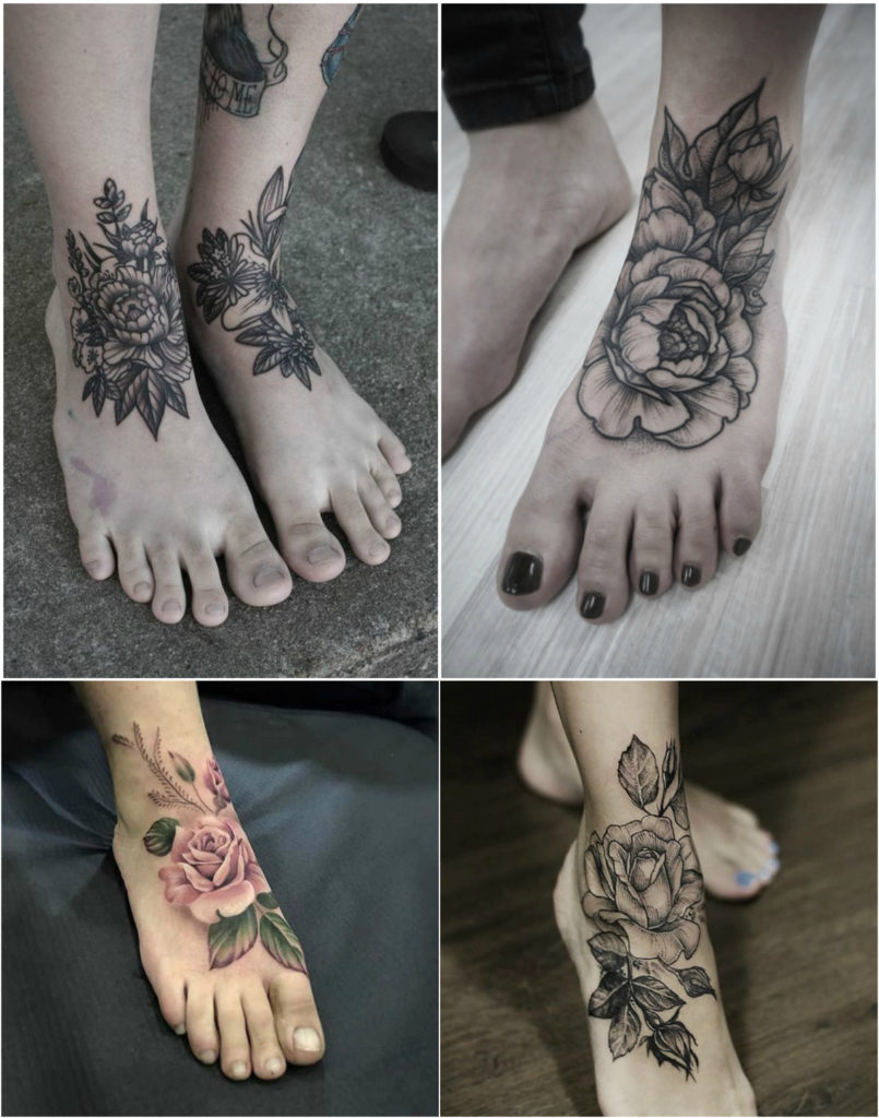 gorgeous-roses-foot-tattoo
