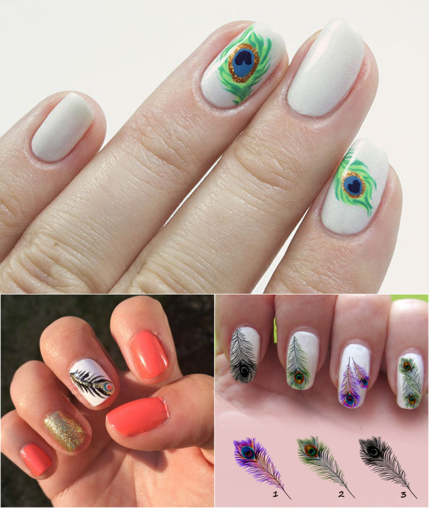 peacock-feather-nail-design