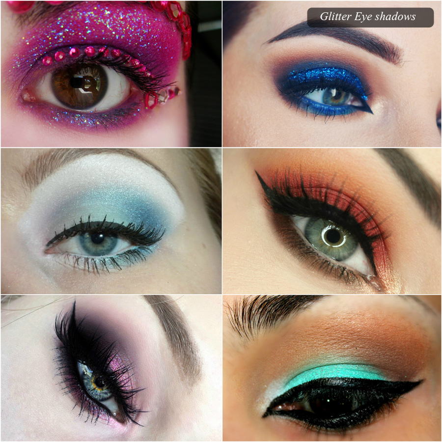 Glitter-Eye-shadows