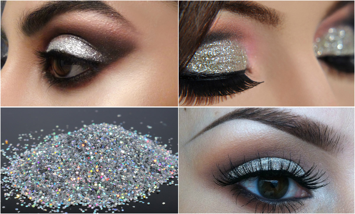Smudgy-Silver-Glitter-Shadow