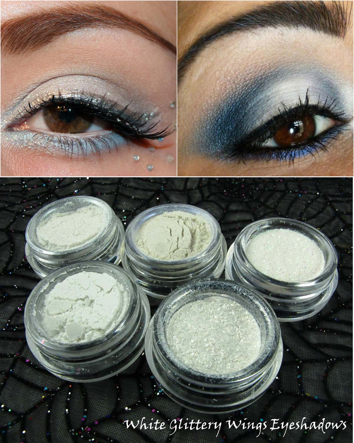 White-Glittery-Wings-Eyeshadows