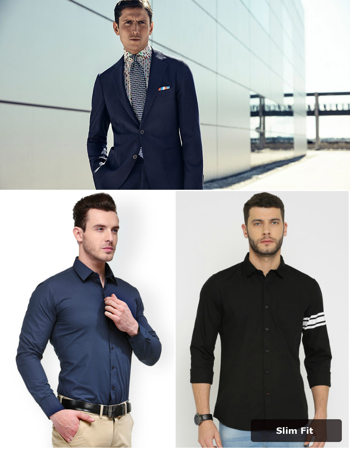 dress shirt fit collection