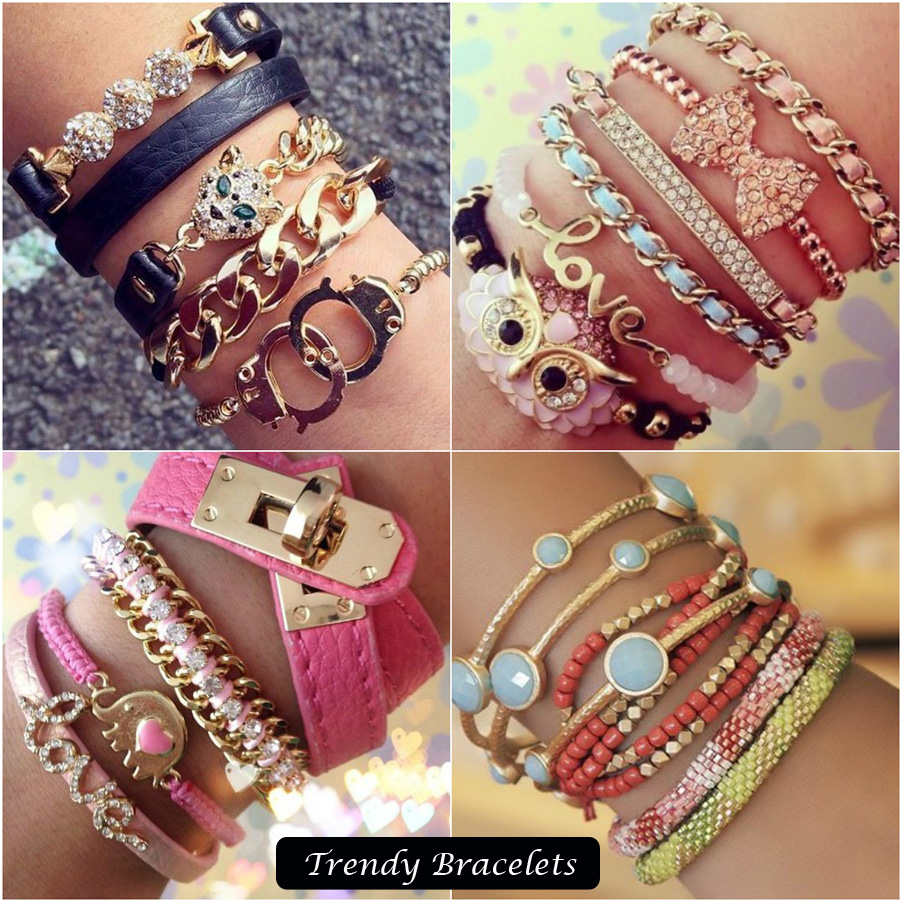 Trendy Bracelets Collection