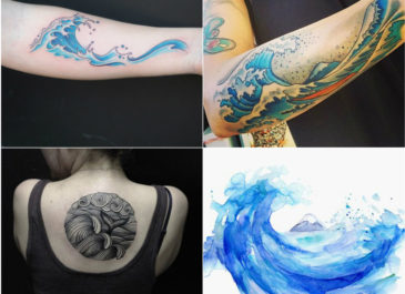 Popular Styles of Wave Tattoos