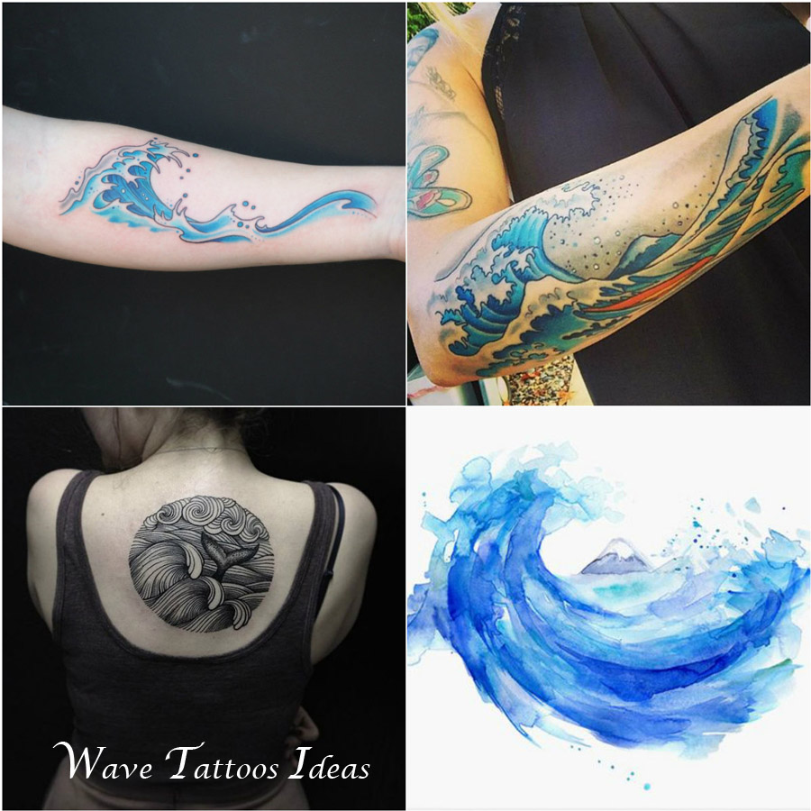 Wave-tattoos-ideas