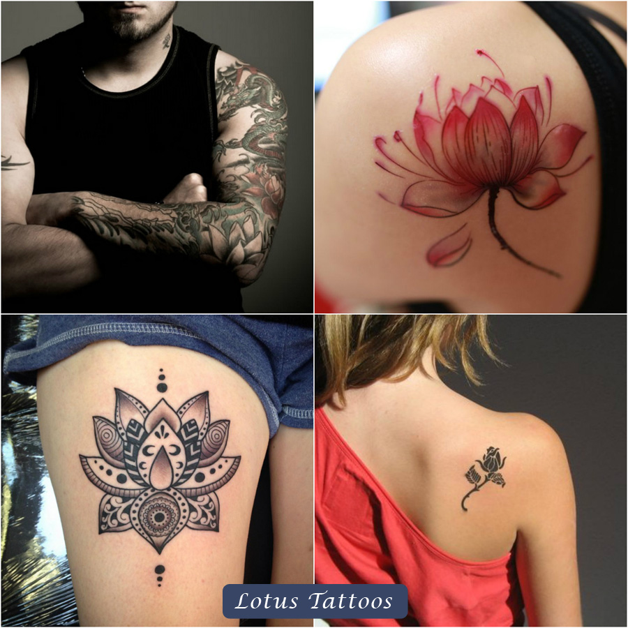 different designs of tribal lotus tattoos and their meaning in different cultures top beauty. Black Bedroom Furniture Sets. Home Design Ideas