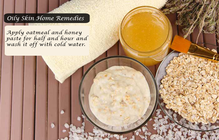 oatmeal and Honey Paste for Oily Skin