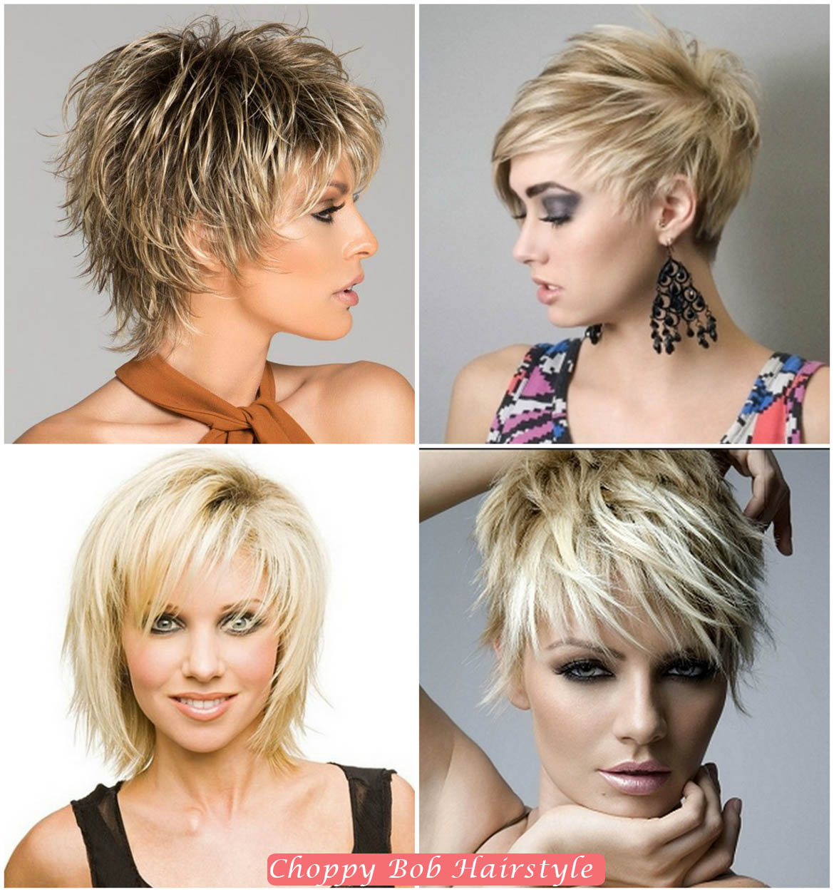 Choppy Bob Hair Cut | Bob Hairstyles for Women