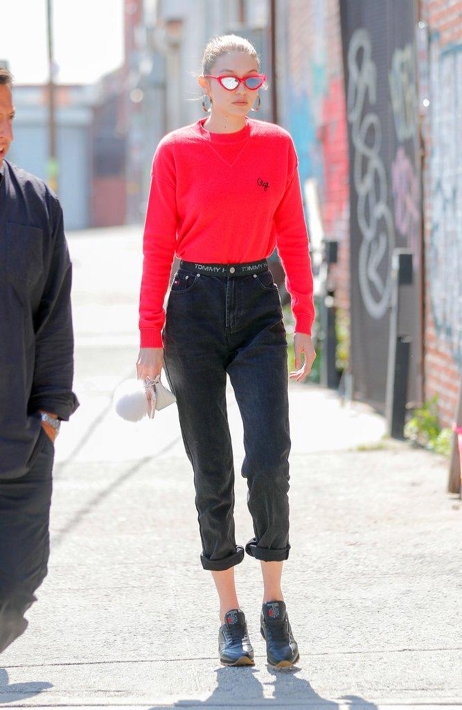 Gigi-Hadid-dad-sneakers-fashion