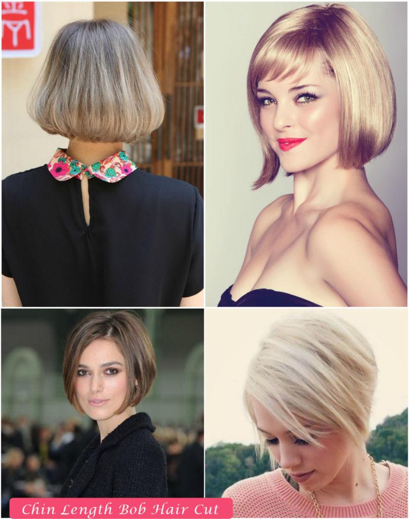 Chin Length Bob Hair Cut | Bob Hairstyles