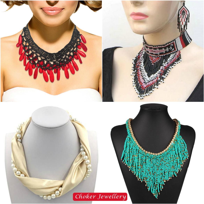 Choker jewellery