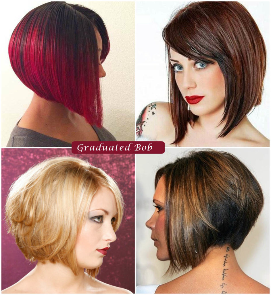 Graduated Bob Hairstyle | Bob Hairstyles for Women