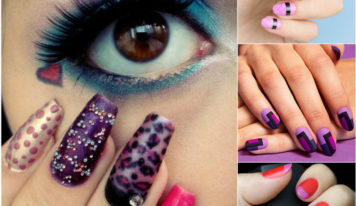 Check Out killer Striping Tape Nail Art Designs That Leaves You Spell Bound
