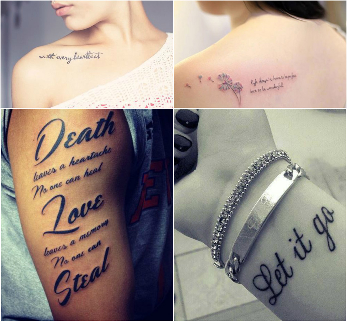 phrase used too often tattoos