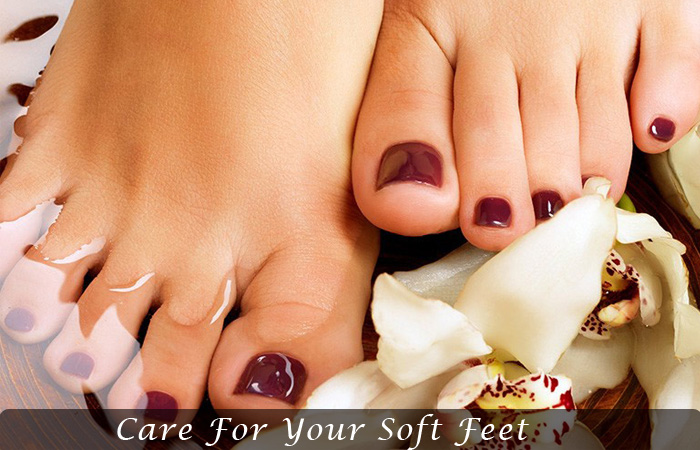Care for your soft feet | overnight beauty hacks