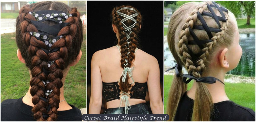 Corset French Braid | Corset Braid Hairstyle Trend