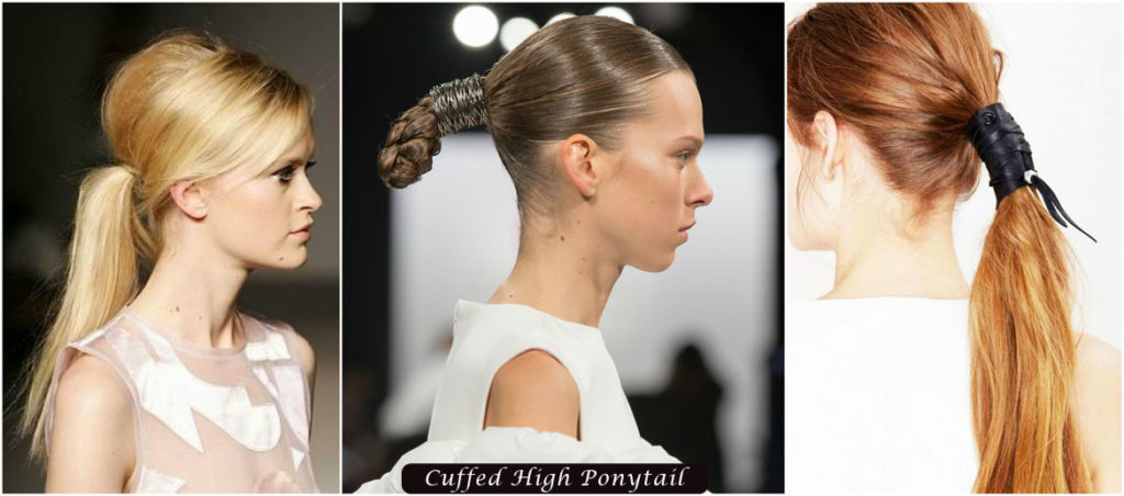 Cuffed High Ponytail