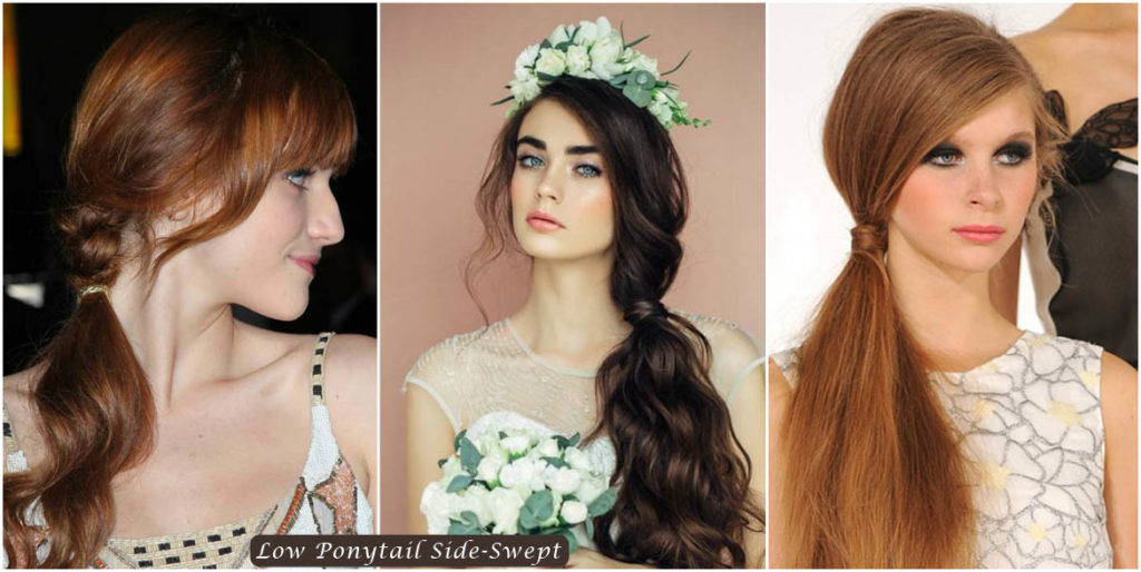 Low Ponytail Side-Swept | Low Ponytail Side-Swept  Hairstyles