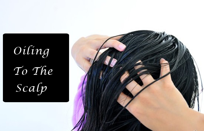 Oiling to the scalp | Overnight Beauty hacks to try from tonight